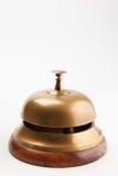 Обслуживайте колокол на белой предпосылке Стоковые Фотографии RF