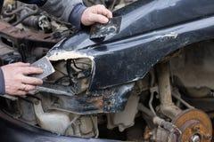 Обслуживание автомобиля reparing Стоковые Изображения