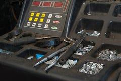 Обслуживание автошины автомобиля Стоковые Изображения RF