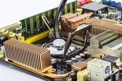 Обслуживание компьютера стоковое изображение rf