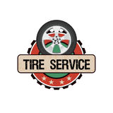 Обслуживание колеса автошины бесплатная иллюстрация