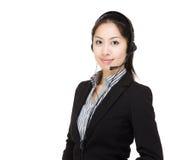 Обслуживание клиента Азии Стоковая Фотография