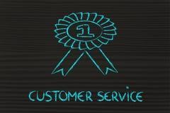 Обслуживание клиента одно Стоковое Изображение