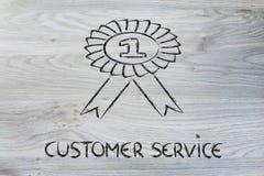 Обслуживание клиента одно Стоковая Фотография RF