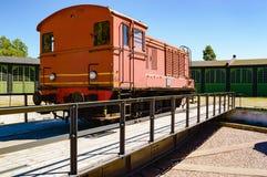 Обслуживание поезда стоковое фото rf