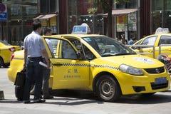 Обслуживание такси стоковая фотография rf