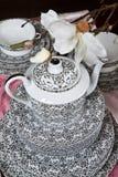 Обслуживание чая Стоковое Изображение RF