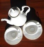 Обслуживание чая стоковое изображение