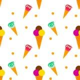 Обслуживания шоколада конуса мороженого Стоковые Фотографии RF