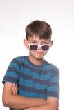Обтекатель втулки непоседы удерживания мальчика Стоковая Фотография