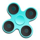 Обтекатель втулки edc руки Игрушка непоседы для увеличенного фокуса, сброса стресса вектор Стоковые Фотографии RF