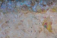 Обтертая предпосылка стены graffity Стоковая Фотография RF