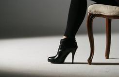 обувает женщину Стоковое Изображение RF