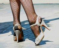 обувает танго Стоковое Изображение RF