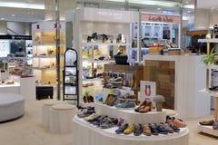 Обувной магазин в финансовом районе 101 Стоковые Изображения