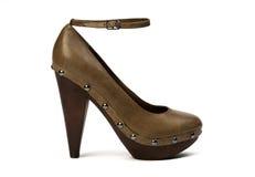 обувь предпосылки Стоковое Изображение RF