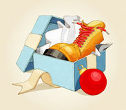 Обувь ретро тип Стоковые Фото