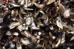обувь старая Стоковые Изображения