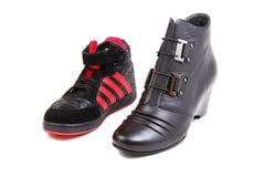 обувь Стоковое Фото