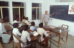 Обучение взрослых Индия стоковые фото