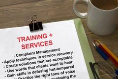 Обучение управленческих кадров жалобы Стоковые Изображения RF
