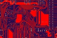 обходит вокруг горячий красный цвет Стоковые Фотографии RF