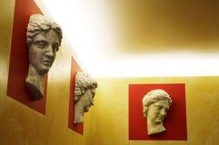 обшейте панелями скульптуры Стоковые Изображения RF