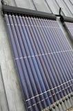 обшивает панелями солнечное Стоковая Фотография