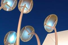 обшивает панелями солнечное Стоковые Фото
