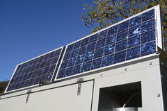 обшивает панелями солнечное Стоковые Изображения