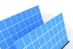 обшивает панелями солнечное Стоковая Фотография RF