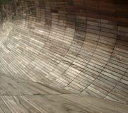 обшивать панелями деревянный Стоковые Фото