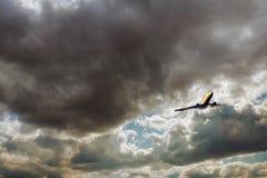 Обширное голубое небо и небо облаков Стоковая Фотография RF