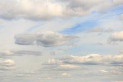 Обширное голубое небо и небо облаков Стоковое Фото