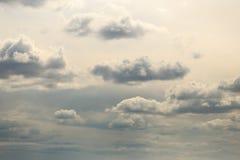 Обширное голубое небо и небо облаков Стоковые Фотографии RF