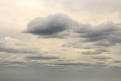 Обширное голубое небо и небо облаков Стоковые Фото