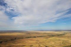 Обширные, плоские Великие равнины Стоковое фото RF