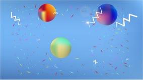 Общая абстрактная фантазия космоса недавняя бесплатная иллюстрация