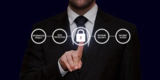 Общая регулировка GDPR защиты данных Стоковые Фотографии RF
