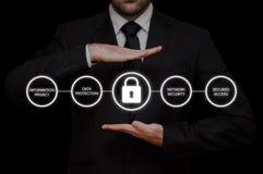 Общая регулировка GDPR защиты данных Стоковая Фотография RF