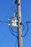 Общего назначения трансформатор линии электропередач Стоковое фото RF