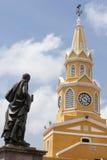 Общественная башня с часами Стоковое Фото