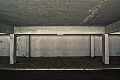 Общественная деталь гаража стоковые изображения