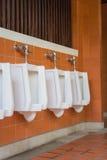 Общественная комната туалета людей Стоковое Фото