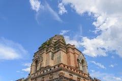 Общественная старая пагода кирпича Стоковое Изображение RF