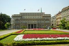 Общественное здание в Белград стоковое изображение