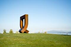 Общественное искусство в пункте наборов Стоковое Изображение RF