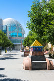 Общественное искусство в Сан-Хосе, Калифорнии стоковое изображение