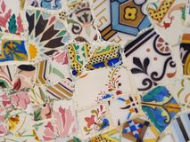 Общественное искусство: Мозаика Стоковые Изображения RF