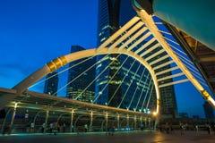 Общественное skywalk на bangkok Стоковая Фотография